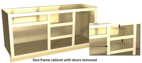 cabinet stiles and rails full overlay tutorial