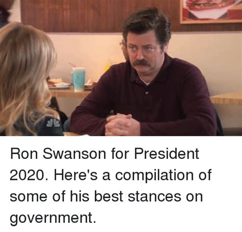 Swanson Meme Swanson Meme Government Www Imgkid The Image