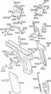 Tokyo Marui Sig Sauer P226 Parts Diagram  Frame Assembly