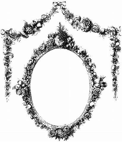 Frame Floral Frames Clipart Transparent Border Ornate