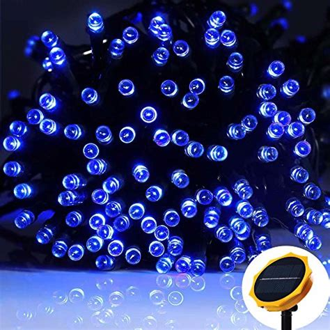 solar powered led icicle lights solar powered led string clear lights outdoor waterproof