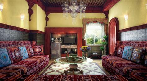 la decoration salon marocain la symbiose entre tradition