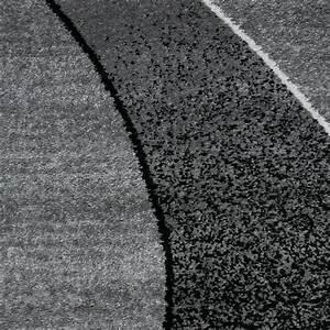 Teppich Schwarz Weiß Gestreift : teppich modern design gestreift wellen grau schwarz wei meliert ebay ~ Indierocktalk.com Haus und Dekorationen