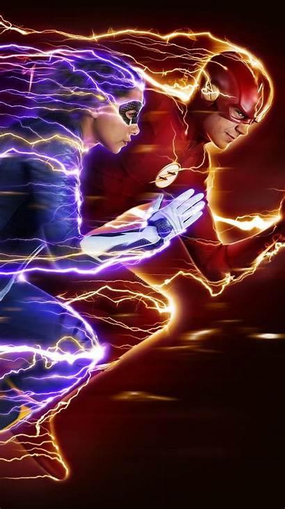 Flash Nora Season Wallpapers Phone Arrow Moviemania