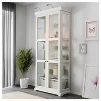 glass door cabinets LIATORP Glass-door cabinet White 96 x 214 cm - IKEA