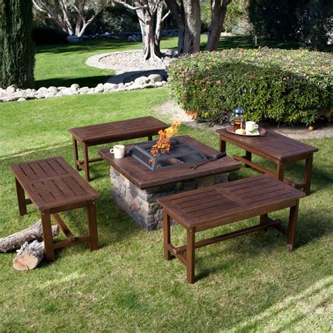 furniture warming   backyard  fire pit