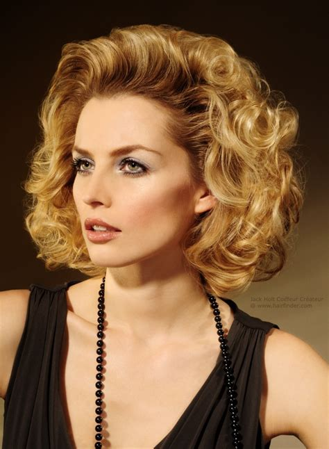 Curls Hairstyles by Medium Hairstyle With Large Soft Curls And A Lot Of