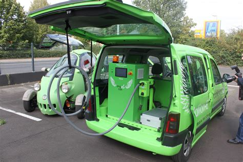 World's First Mobile Charging Station For