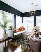 Navy Blue Interior Design Idea Interiors Homes Chris Interiors Black Interiors White Living Rooms