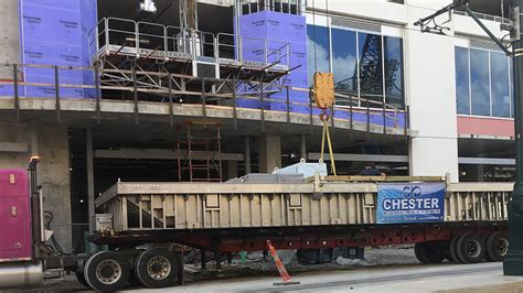 pool lifted  rooftop  hard rock hotel construction