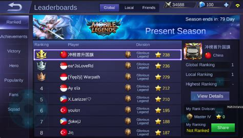 'mobile Legends' Is A Threat To Tencent's 'league Of