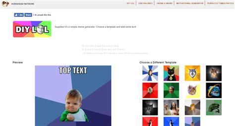 Meme Maker Free Online - top 5 free online meme generator websites