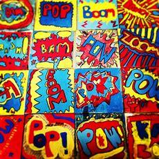 5th Grade Pop Art  5th Grade  Art Classroom, Pop Art, Art