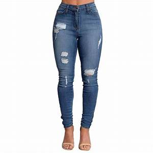 2017 2017 Slim Jeans For Women Skinny High Waist Jeans ...