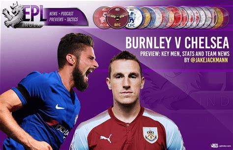 Chelsea vs Burnley Preview | Team News, Stats & Key Men ...