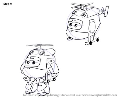 Learn How To Draw Dizzy From Super Wings (super Wings