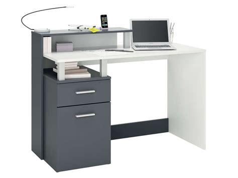 le de bureau 馥 50 bureau 120 cm oracle coloris blanc gris vente de bureau