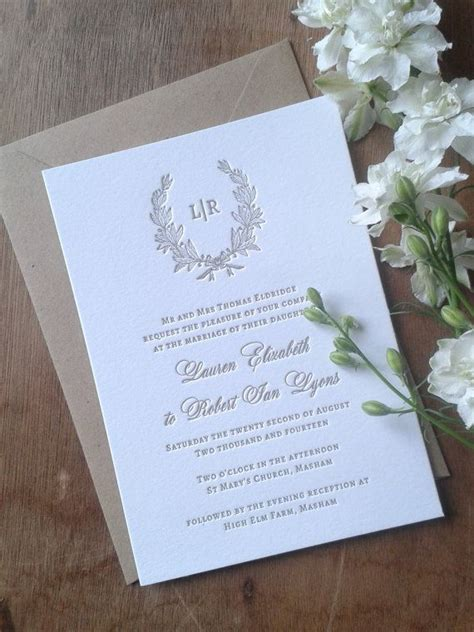 traditional wedding invitations ideas