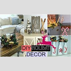 Diy Holiday Room Decor! Diy Christmas! Youtube
