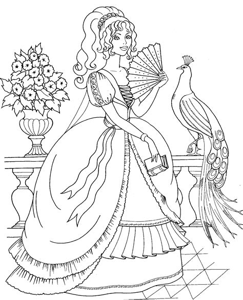 Coloring Pages To Print by Peacocks Coloring Pages And Print For Free