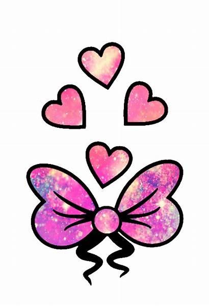 Girly Clipart Heart Glitter Hearts Galaxy Sparkle