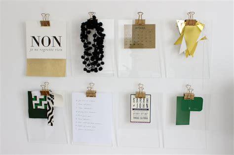 diy gold acrylic clipboards designsponge
