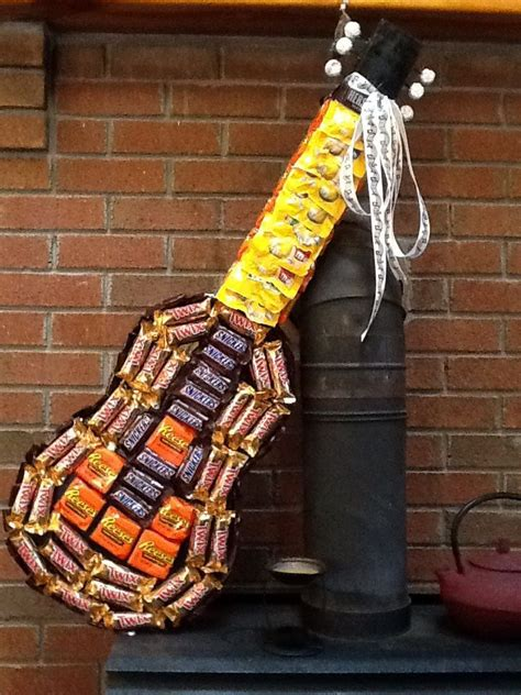candy guitar    gifts  pinterest