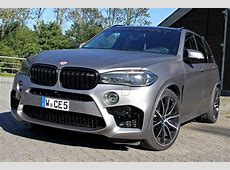 Manhart MHX5 700 BMW X5 M with 700 hp and top speed 315 kmh