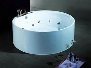Baignoire Ilot Pas Cher : salle de bain baignoire ilot augusta baignoire ronde ~ Premium-room.com Idées de Décoration