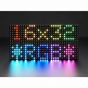 Matrice de 32x16 LED RGB - Boutique Semageek