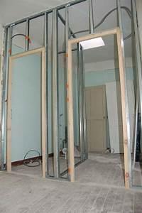Comment Faire Des Bandes De Placo : les toilettes isolation cloison placo ~ Dailycaller-alerts.com Idées de Décoration