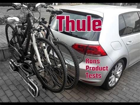 thule euroride 940 test thule euroride 940 anh 228 ngerkupplung fahrradtr 228 ger montage und test beim golf 7