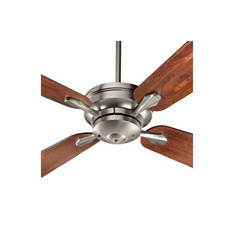 how do you measure a ceiling fan quorum international 81524 65 satin nickel valor 52 quot sweep