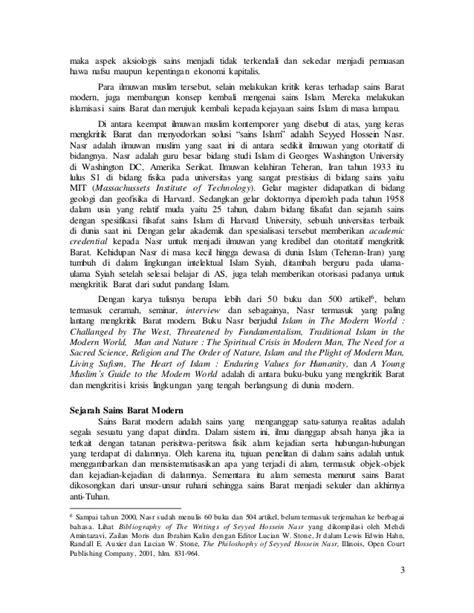 Dr. budi handrianto (kritik terhadap sains barat modern
