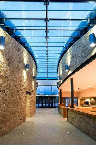 Glass Roof Structural Beams Architectural Clear Living