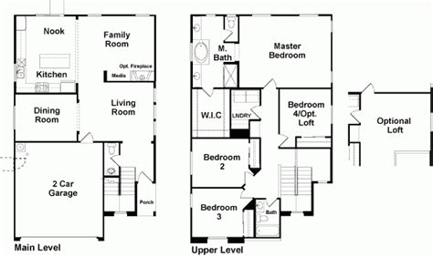New American Floor Plans by New Richmond American Homes Floor Plans New Home Plans