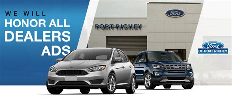 Ford Of Port Richey Honors All Dealer Ads Near Land O