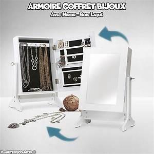 Armoire A Bijoux Pas Cher : achat vente armoire coffret bijoux avec miroir pas cher ~ Teatrodelosmanantiales.com Idées de Décoration