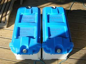 New  2 Marine Battery Boxes By Blue Sea Systems