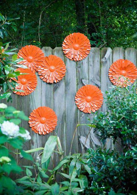 diy flower garden fence ideas homemydesign