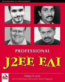 Professional J2ee Eai Zip Download Free 186100544x