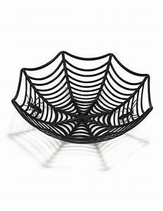 Deko Tablett Schwarz : spinnennetz schale halloween deko schwarz 27cm g nstige ~ Whattoseeinmadrid.com Haus und Dekorationen