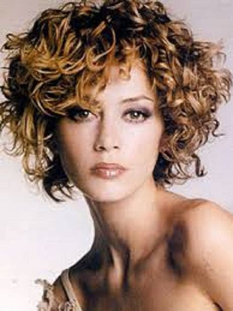 super short curly hairstyles  women