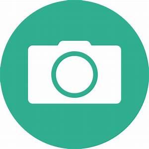 Icono Cámara Gratis de Web UI color