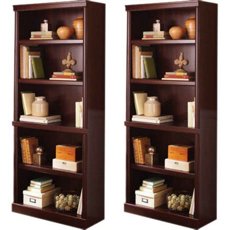 better homes and gardens bookshelf better homes and gardens crossmill bookcase with doors