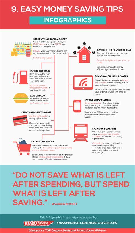 9 Easy Money Savings Tips [Infographic]