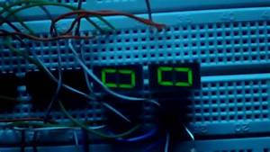 0 To 99 Digital Counter Circuit Diagram Using Ic 4026