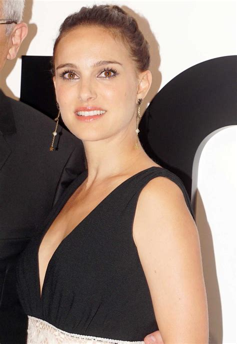 Natalie Portman Attends Miss Dior Perfume Party In