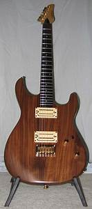 2007 Carvin Walnut Bolt Plus Kit