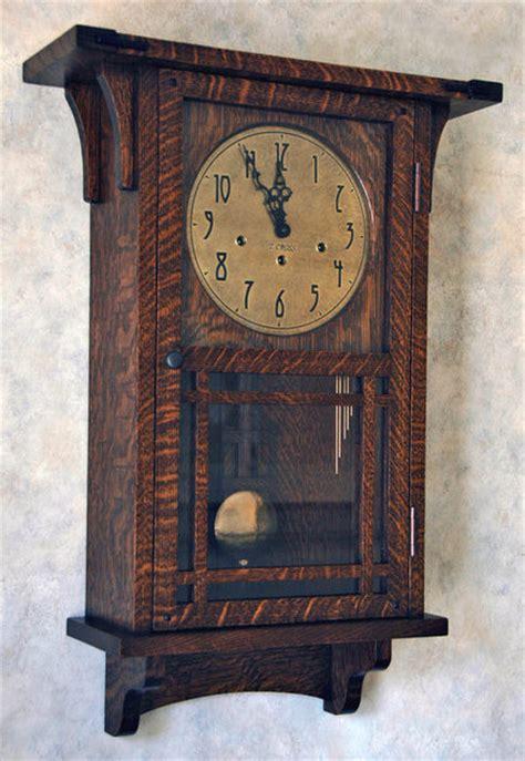 arts crafts wall clock  tjcross  lumberjockscom